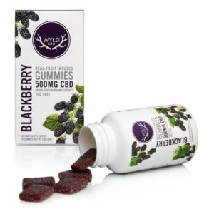 CBD Blackberry Gummies