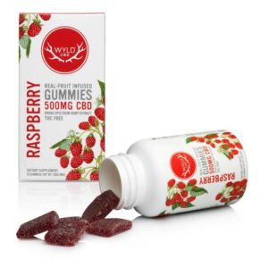 CBD Raspberry Gummies