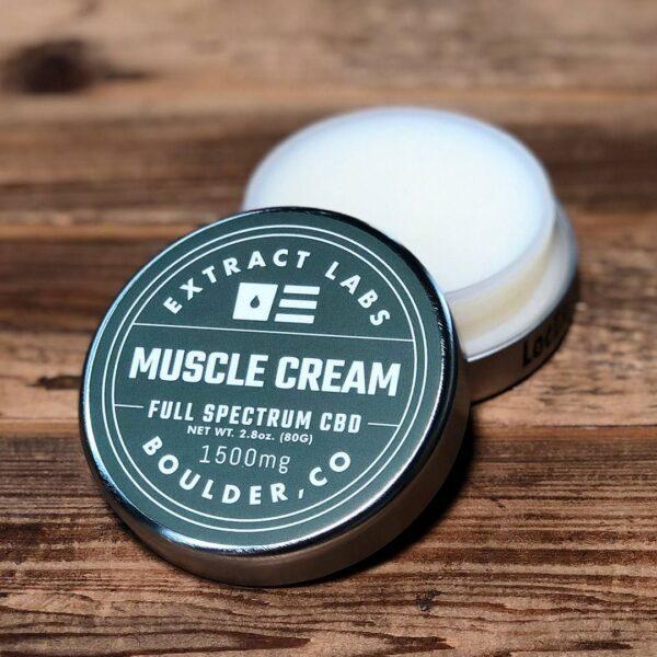 CBD muscle cream