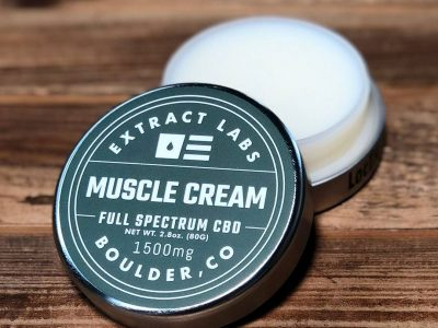 CBD muscle cream